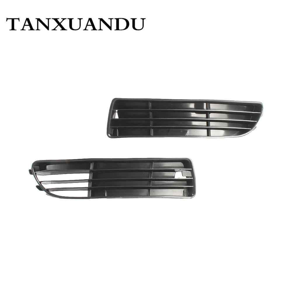 Mesh Front Bumper Lower Fog Light Lamp Grill Grille Cover Fit For AUDI A4 A4 Quattro B5 1995-1999 1.8/2.8L No Hole 8D0807345B