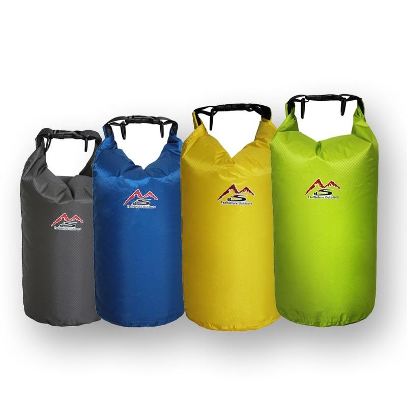 5L 10L 20L 30L Outdoor Swimming Waterproof Bag Camping Rafting Storage Dry Bag Adjustable Sport River Trekking Bags