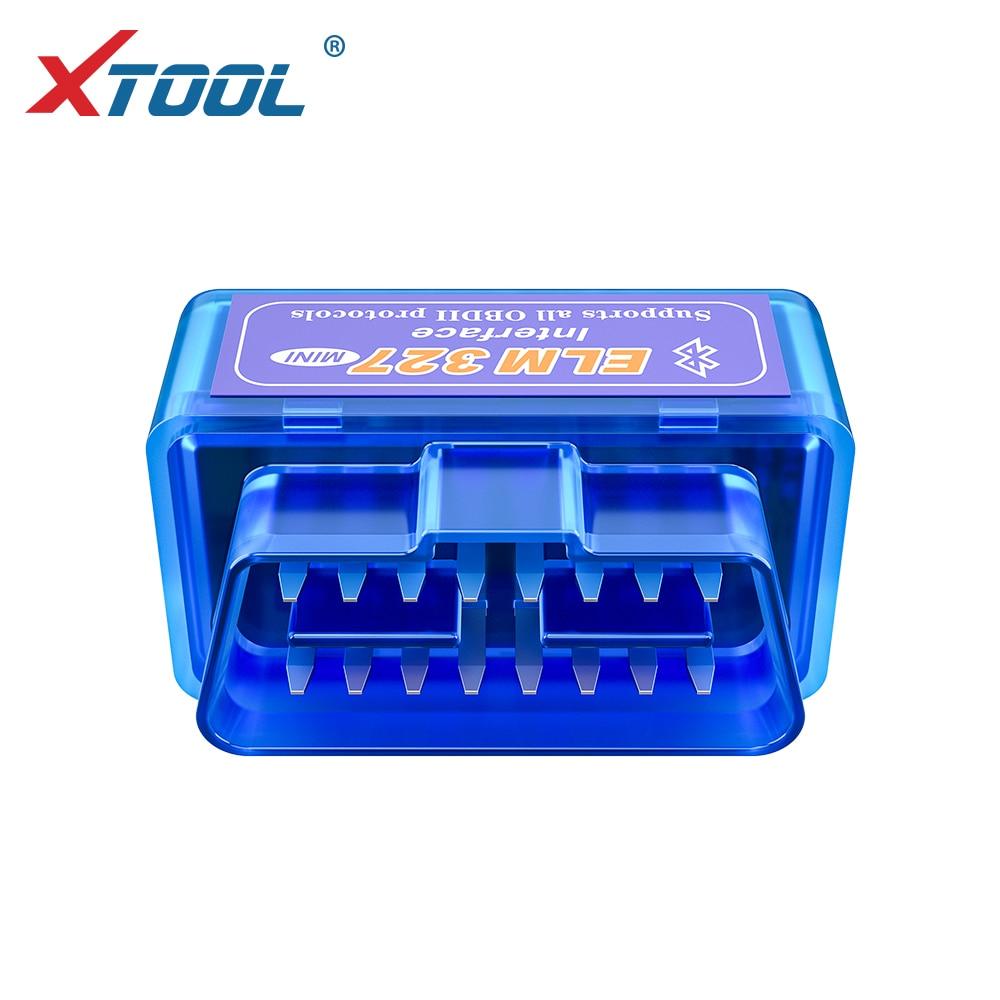 XTOOL 2019 Bluetooth V1.5/V2.1 Mini Elm327 obd2 scanner OBD car diagnostic tool code reader For Android Windows Symbian English 6
