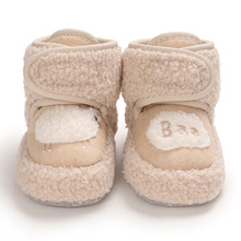 Toddler Shoes Baby-Boys-Girls Snow-Boots Infant Newborn-Baby Winter Wool Warm Lamb