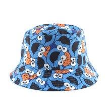 Летняя стильная Рыбацкая шляпа Реверсивный мультфильм ведро