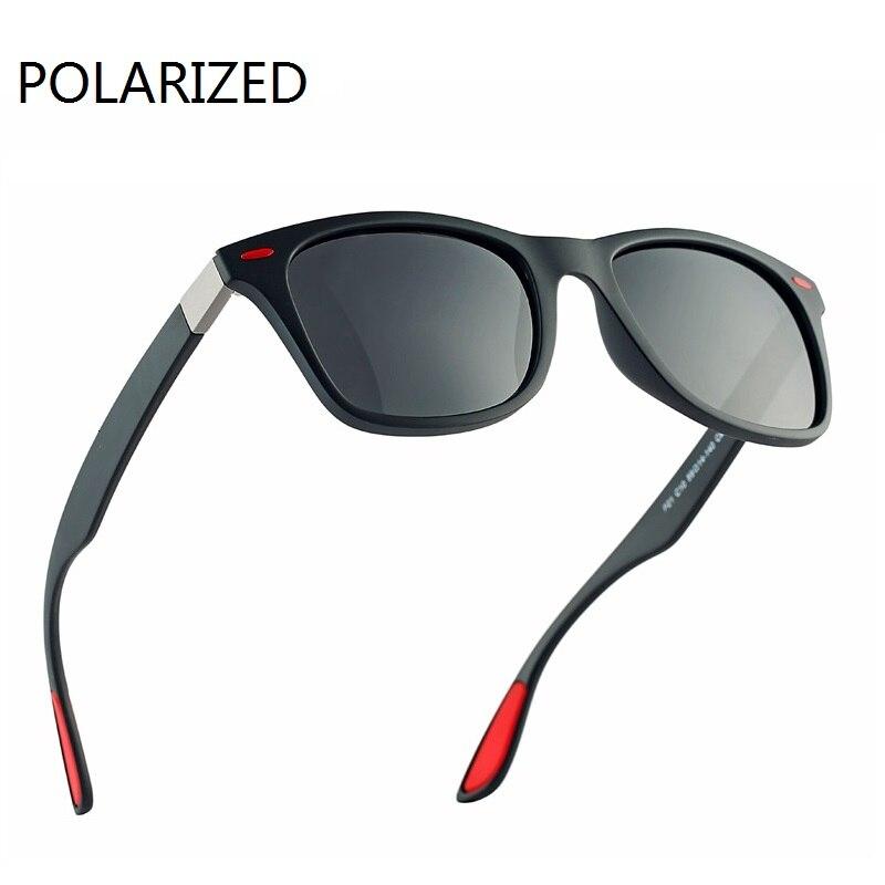Delle Donne Degli Uomini Occhiali da Sole Polarizzati Occhiali da Sole di Sport di Modo di Retro Occhiali da Sole per Uomo Donna di Disegno di Marca Shades Oculos De Sol UV400