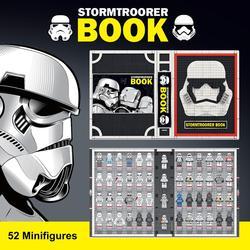 Nowe gwiezdne wojny filmowe seria szturmowców książki klocki figurki klocki klocki zabawki starwars lepining