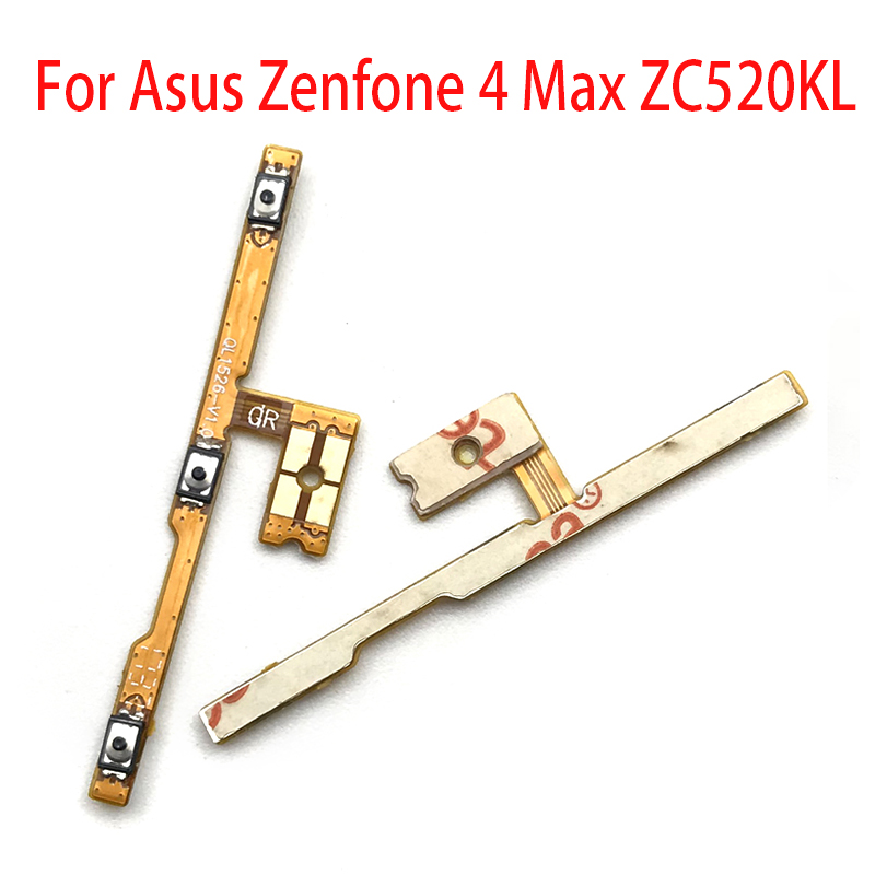 New For Asus Zenfone 4 Max ZC520KL Volume Power Switch On Off Button Key Flex Cable