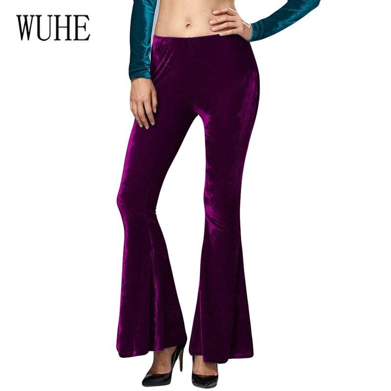 WUHE Trend Street Temperament Fashion Korean Cashmere Stretch Slim Trousers Casual Pants Sexy Women High Waist Long Pants Femme