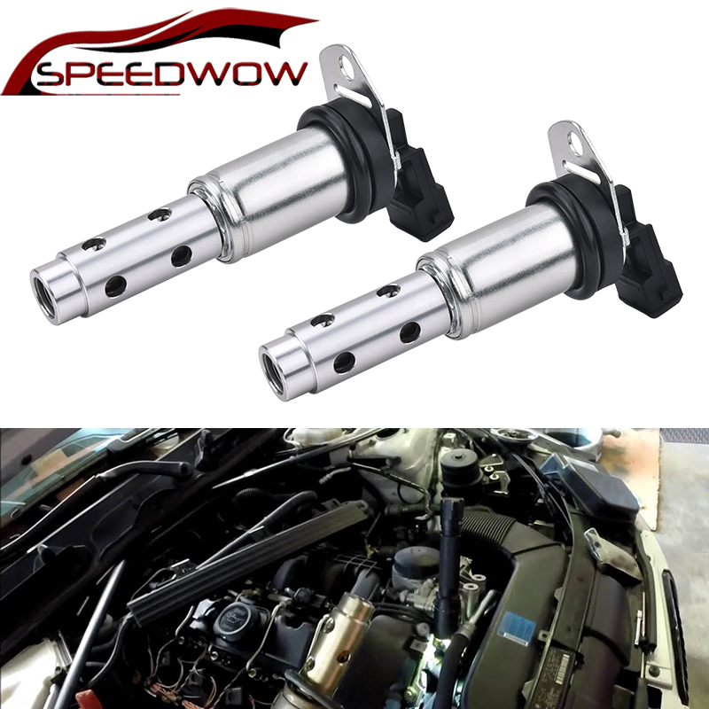 SPEEDWOW 2Pcs VVT Oil Control Valve Timing Control Solenoid 11367585425 For BMW 128i 335i 535i 2.0L 2.5L 3.0L