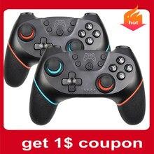 Wireless unterstützung bluetooth Gamepad Für Nintendo Schalter Pro NS Video Spiel USB joystick Controller Für Schalter Konsole mit 6-achse
