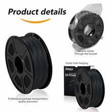 PLA Carbon Fiber Filament 1KG 1.75MM For 3D PrintIing Filament Similar Metal Tecture High Rgidity Light Weight