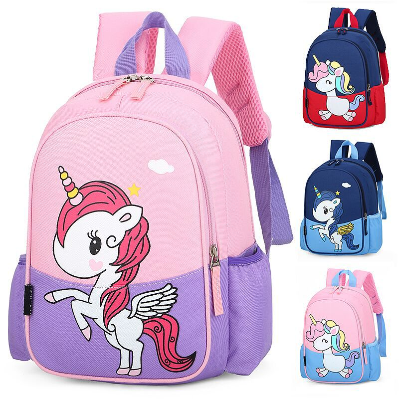 New Cute Cartoon Children School Bags For Girls Boys Kids Backpacks Kindergarten Schoolbags Unicorn Kids Bag Mochila Infantil
