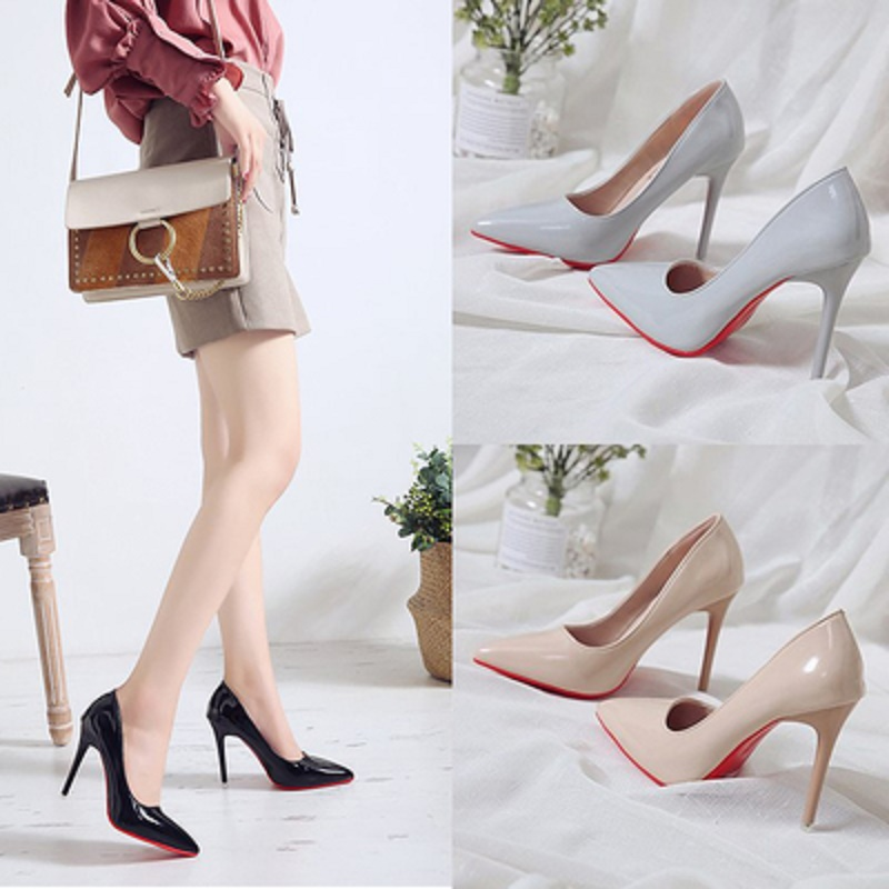WDHKUN New 2020 Bed High Heels Fun One time Sexy High Heels Bed Foot Fetish Alternative Passion Sexy Red Bottom