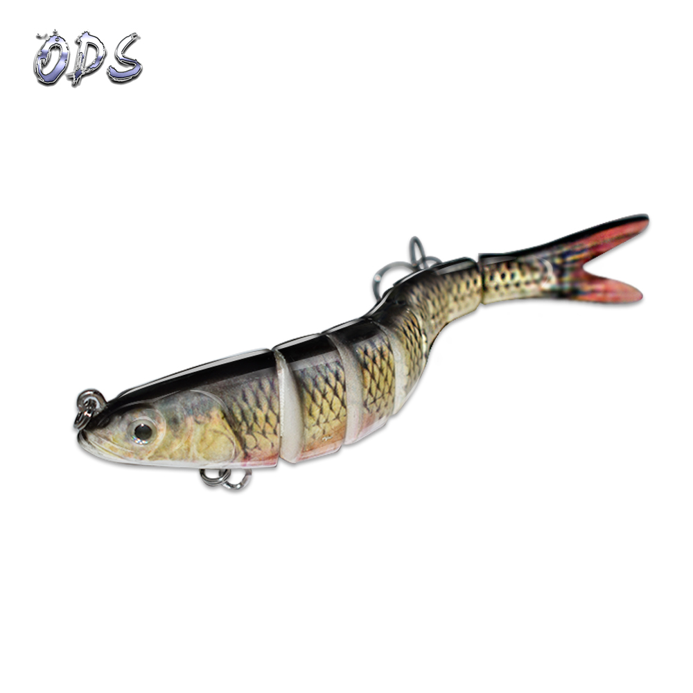 ODS 14cm 30g Sinking Wobblers Fishing Lures Jointed Crankbait Swimbait 8 Segment Hard Artificial Bait For Fishing Tackle Lure
