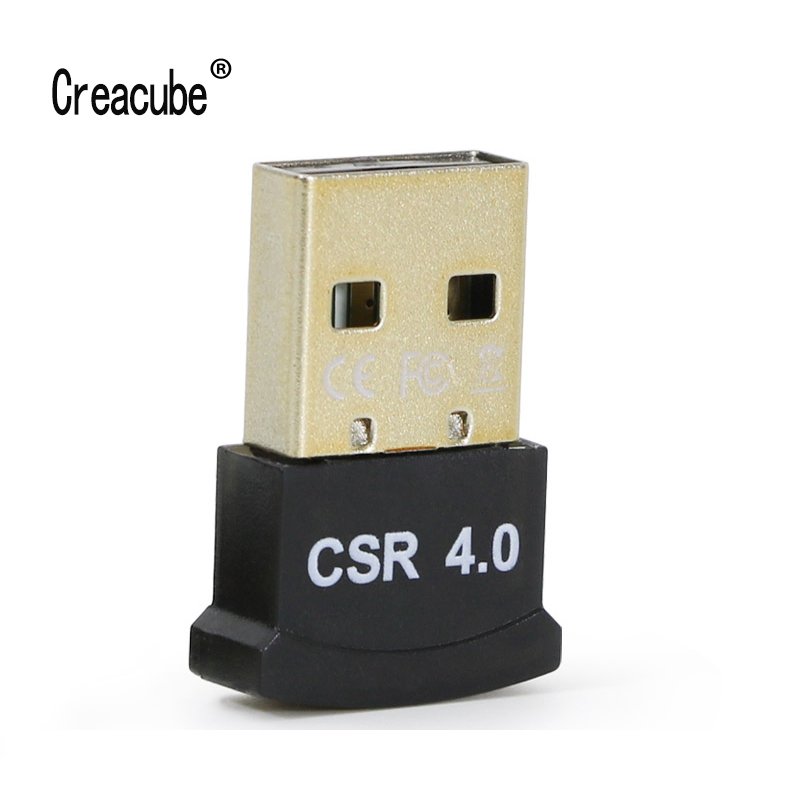 Creacube Wireless USB Bluetooth 4.0 Adapter Mini Bluetooth Dongle Music Sound Bluetooth Transmitter Receiver Adapter For PC