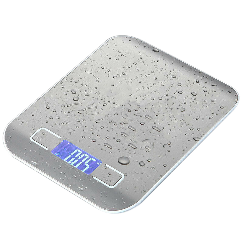 Waterproof 5Kg/1G Digital Electronic Kitchen Food Diet Scale Weight Balance|Bathroom Scales| |  - title=