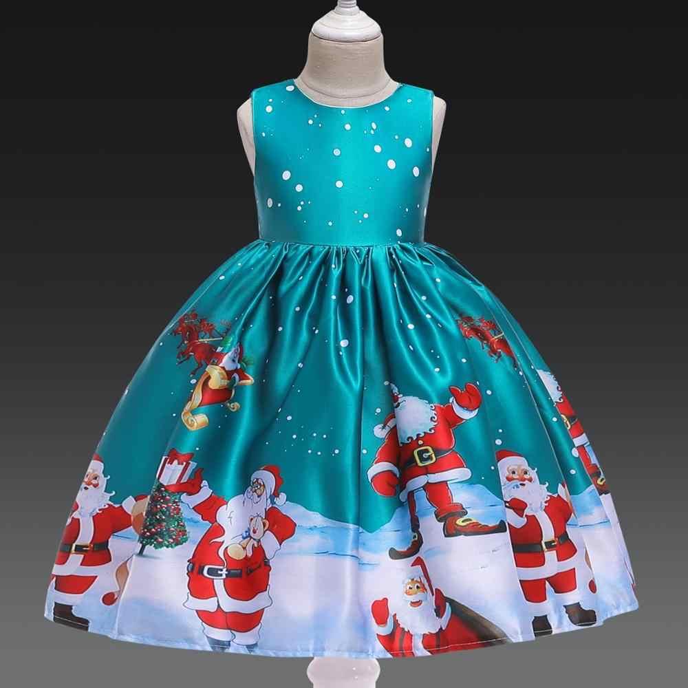Año Nuevo Vestido De Navidad Para Niñas Disfraz De Santa Cls