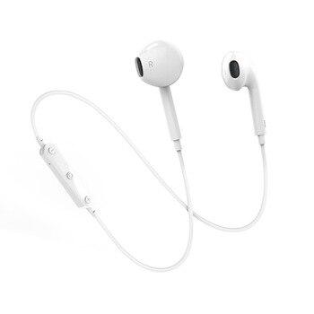 S6 auriculares Bluetooth nuevo inalámbrico de deporte auriculares montado en la cabeza teléfono móvil auricular estéreo Mini auriculares Bluetooth