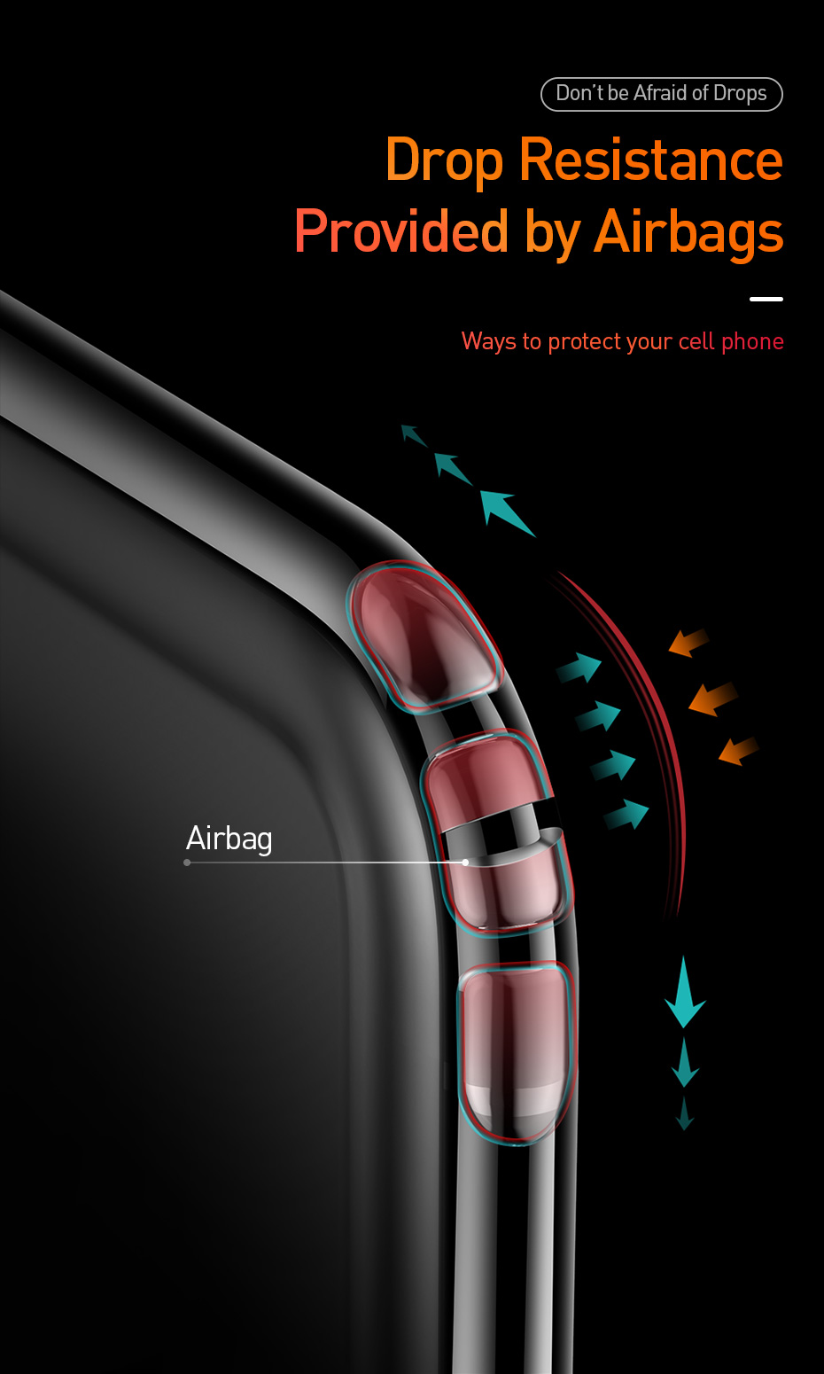 Air Bag Clear TPU Case for iPhone 11/11 Pro/11 Pro Max 3