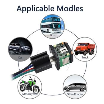 Car GPS Tracker ST-907 Tracking Relay Device GSM Locator Remote Control Anti-theft Monitoring Cut off oil System with free APP 3