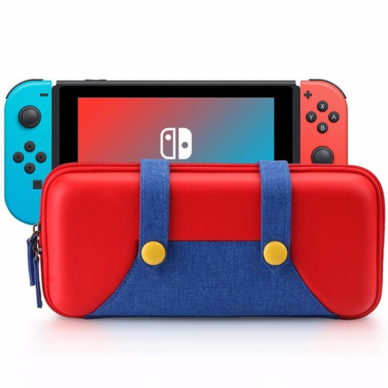 EastVita Portable Hard Shell Case for Nintend Switch Magnetic Button Pouch Storage Bag for NS Console Protective Cover r42