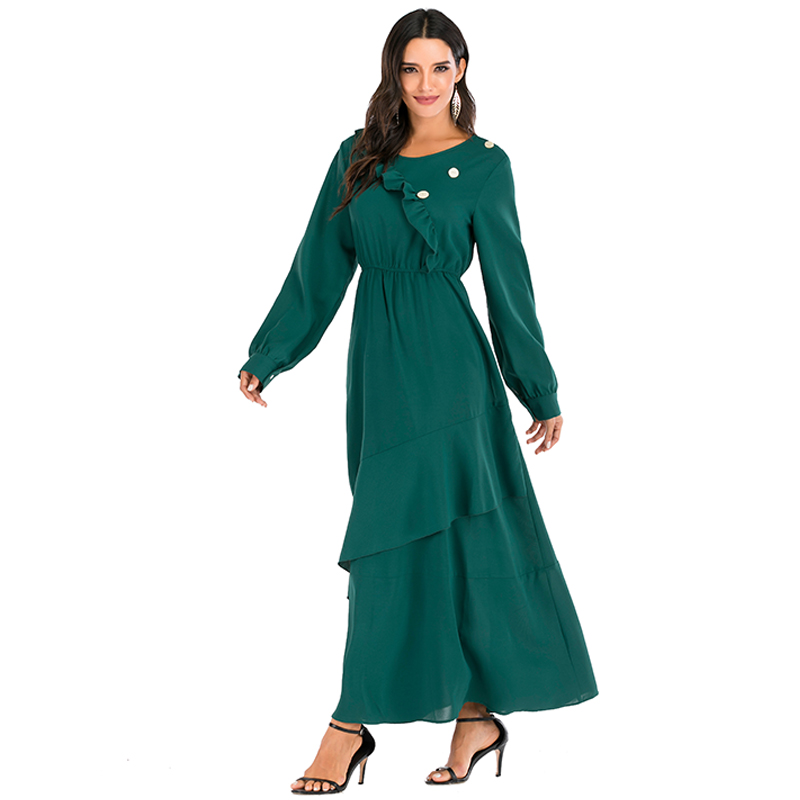 Abaya Dubai Turkish Hijab Muslim Dress Caftan Kaftan Dresses Islamic Clothing For Women Tesettur Elbise Djellaba Robe Islam Ropa