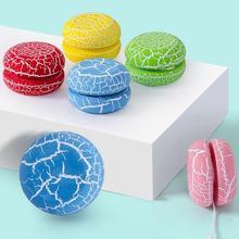 Дерево Crackle йо-йо классическая игрушка пальцы цикл мяч изысканный подарок для детей память детство с дерзким Хлопок Веревка