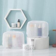 Storage Bag Clothes Organizer Portable EVA Mesh Cosmetic Unisex Travel Wash