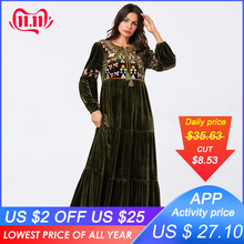 Long Embroidered Dress O