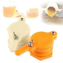 Abelha de plástico mel torneira porta válvula apicultura extrator ferramenta de engarrafamento bom selo reutilizável durável não-tóxico apicultura ferramenta