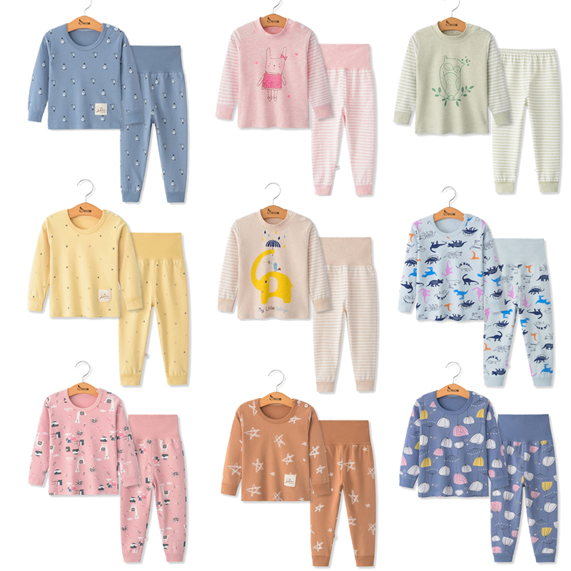 Toddler Baby Girl Clothes Long Sleeve Tops+Pants Pajamas Sets Children Sleepwear Pijama Infant Boys Outfits Winter Pyjamas Kids