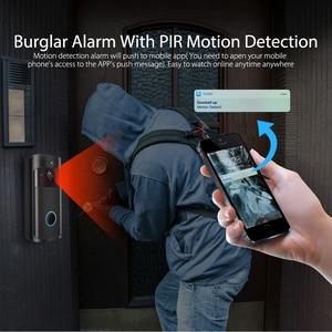 Image 5 - IP וידאו אינטרקום WI FI וידאו דלת טלפון דלת פעמון 720P WIFI פעמון מצלמה עבור דירות IR מעורר אבטחה אלחוטית מצלמה