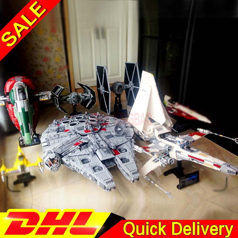 LP 05007 05034 Assemble Shuttle Lepin 05036 05037 LP 05039 05055 Star Wars Blocks Lelepins Toys 75105 10212