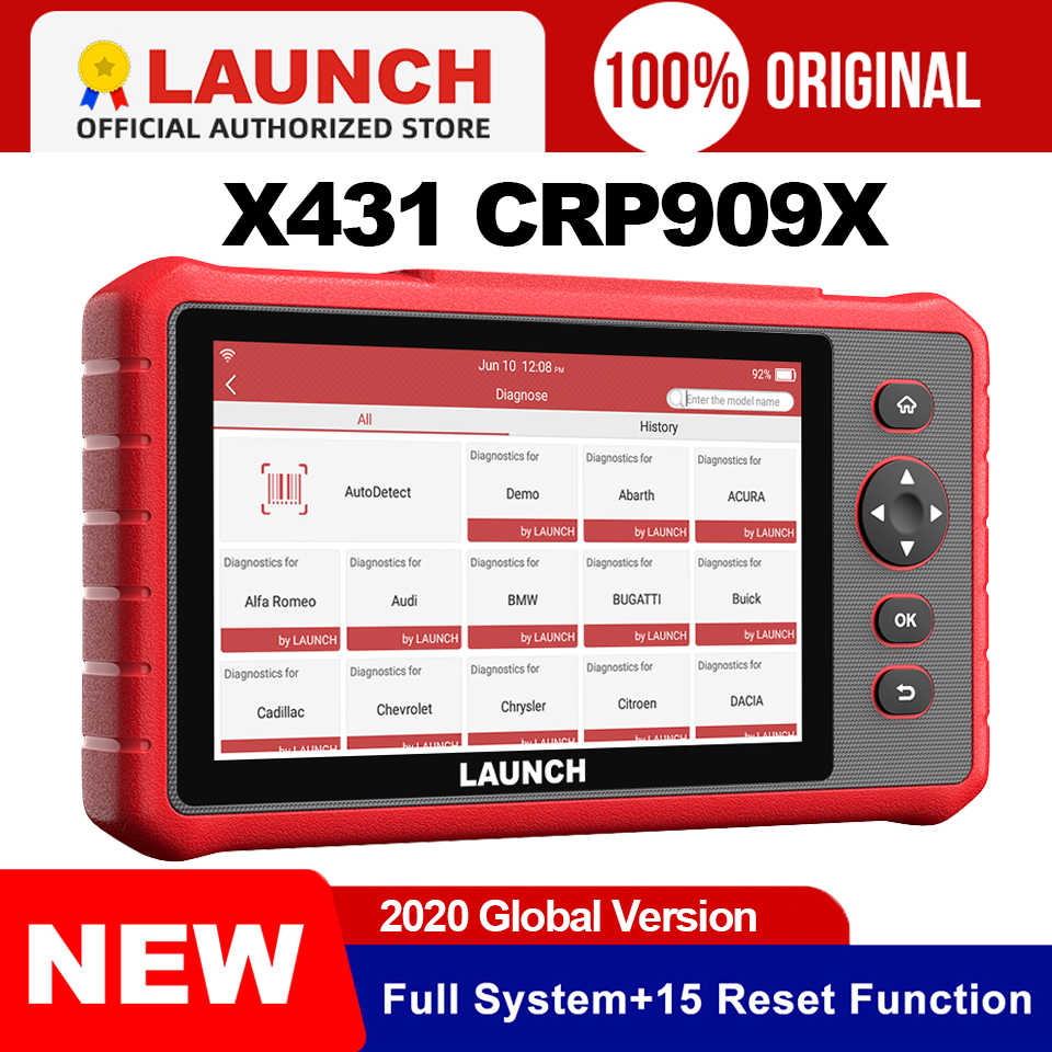 Launch X431 Crp909x Obd2 Scanner Volledige Systemen Auto Code Reader Wifi Diagnostic Tool Obdii Eobd Automotive Tool Pk Crp909 Mk808