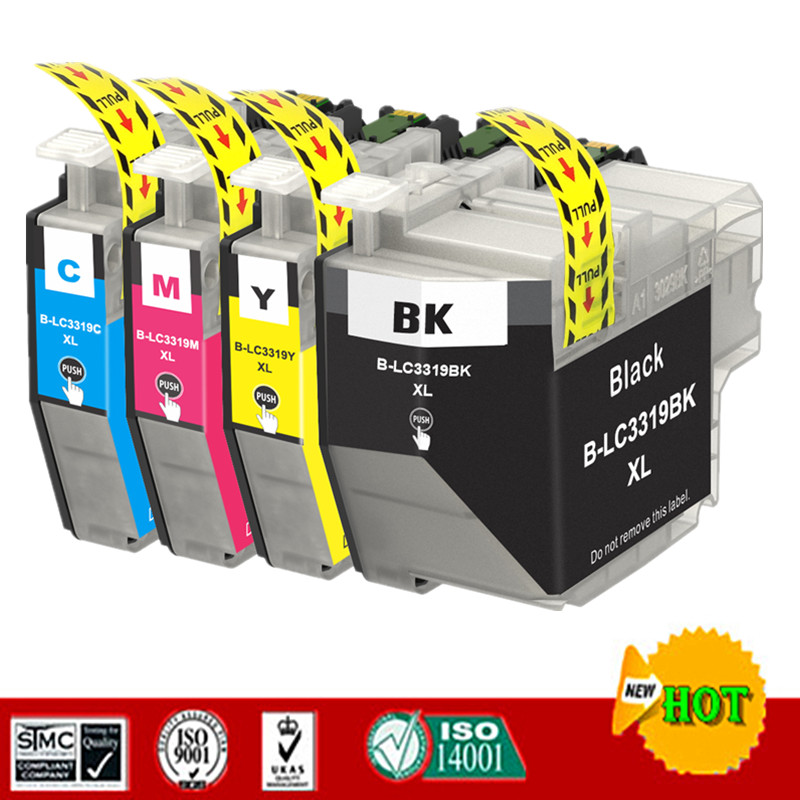 Replacement Ink Cartridge For LC3319 LC3319XL Suit For Brother MFC J6530DW MFC J6730DW MFC J6930DW MFC J5330DW  etc..|Ink Cartridges| |  - title=