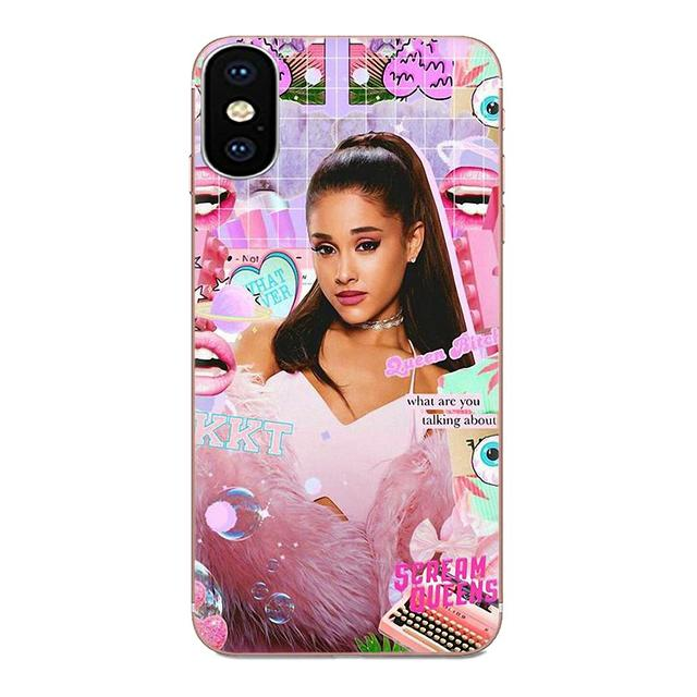 New Luxury Phone Case For Galaxy Grand A3 A5 A7 A8 A9 A9S On5 On7 Plus Pro Star 2015 2016 2017 2018 Ariana Grande