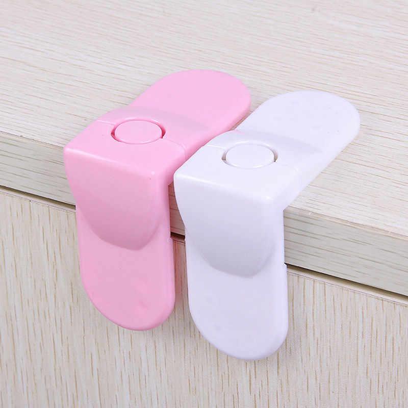 5 teile/paket Hartplastik Baby Pflege Sicherheit Schutz Schublade Schrank Tür Rechts Winkel Ecke Lock Kinder Sicherheit