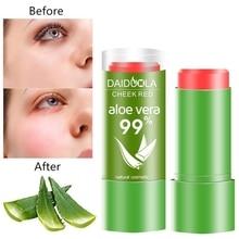 99% Aloe Vera Blush Stick Lasting Natural Waterproof Oil Con