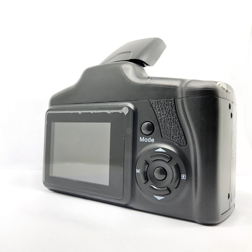 H79489b64b35b4279b689effacdf056f2s XJ05 Digital Camera SLR 4X Digital Zoom 2.8 inch Screen 3mp CMOS Max 12MP Resolution HD 720P TV OUT Support PC Video