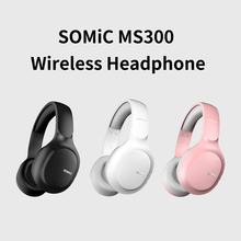 Wireless Gaming SOMIC Bluetooth 5.0 Headset Over-Ear Stereo Withmic Music-Sports CVC