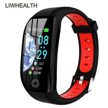 Nager IP68 Montre intelligente hommes/femmes App GPS Reloj intelligent Smartwatch pression artérielle pour Apple/Xiao mi PK mi bande 4 Montre connecter