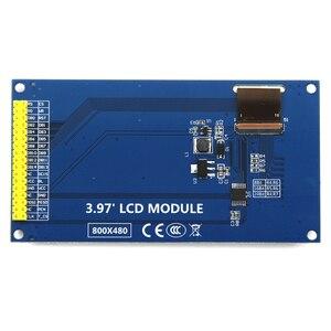 Image 3 - EQV новый 4 дюймовый на тонкопленочных транзисторах на тонкоплёночных транзисторах ЖК дисплей экран сенсорный экран модуль IPS full view со сверхвысоким разрешением Ultra HD, 800X480 с опорной плиты