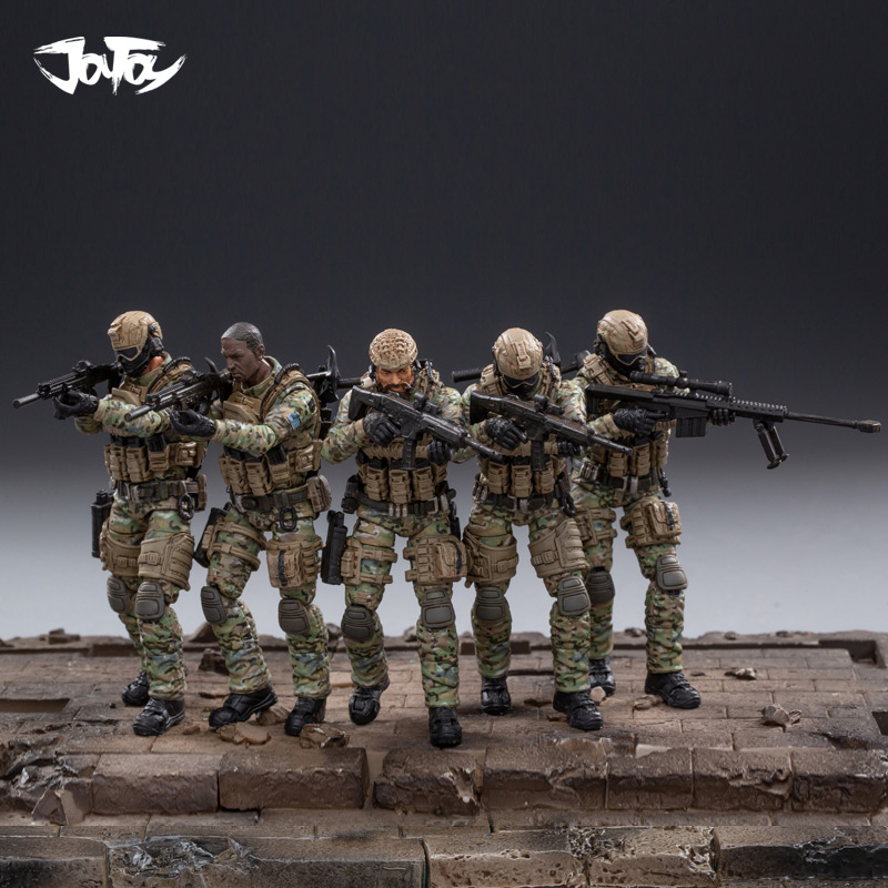 1/18 FIGURE - JOY TOY 10.5 CM Tall USA Cavalry Regiment Model Toy D
