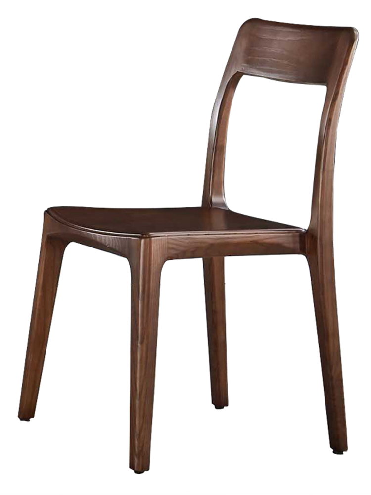 Wooden Chair Modern Minimalist Home Chair Creative Fashion Nordic Net Red Solid Wood Chair Hotel Restaurant Table And Chair Comb