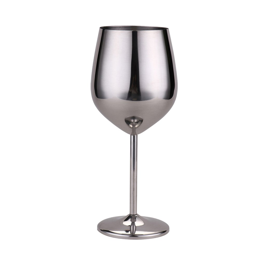 Stainless Steel Red Wine Goblets Copper Plated Red Wine Glass Juice Drink Champagne Goblet Party Barware Kitchen Tools
