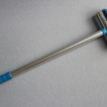 Профессиональное производство высокого качества алюминиевый стержень зубчатый ролик, Длина ручки 50 см