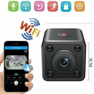 Image 1 - Hdq9 mini wifi câmera hd 1080p vídeo gravador de áudio com visão noturna ir detecção de movimento pequena filmadora sem fio carro micro cam