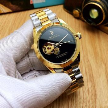 Classic New Watch Men Datejust Silver Gold Watch Automatic Mechanical Stainless Steel Date Just Watches Relogio Masculine 12
