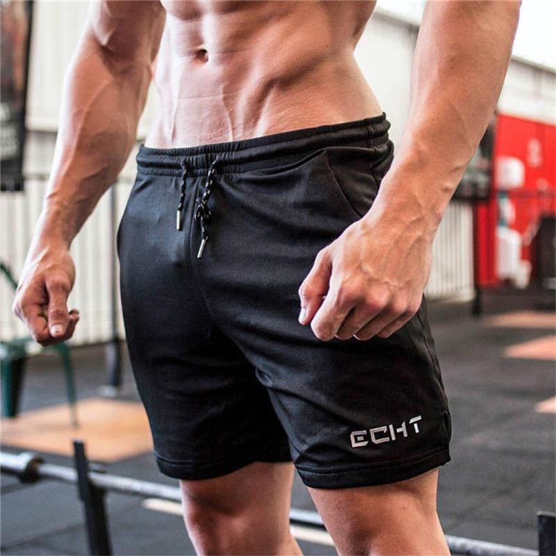 2019 New Running Shorts Mens Jogger Sports Quick Dry Fit Shorts Men Black Bodybuilding Short Pants Male Gym Shorts For Workout