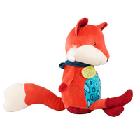 B. Toys Hand Puppet Pacify Toy Animal Fox Small Raccoon Baby Infants Children Stuffed Toy Educational