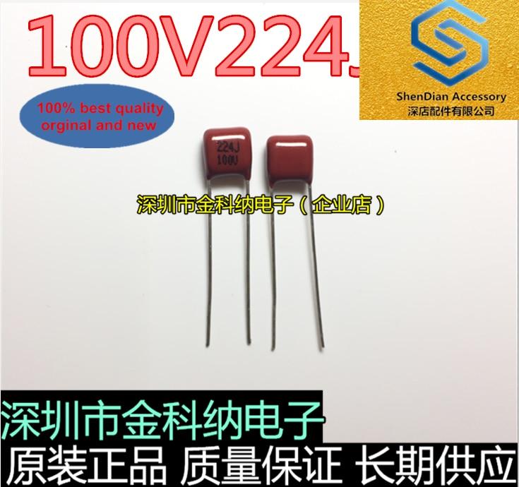 30pcs 100% Orignal New CBB Film Capacitor 100v 224J 2.2NF 0.02UF In Stock