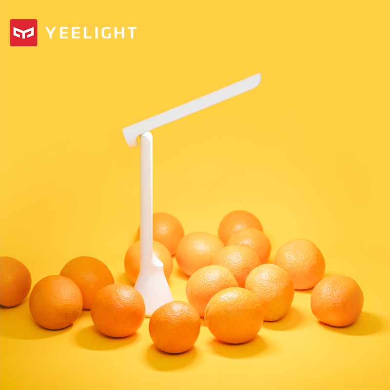 Image 3 - Original xiaomi mijia Yeelight Folding USB Rechargeable LED Table Desk Lamp Dimmable-in Smart Remote Control from Consumer Electronics