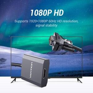 Image 2 - VGA to HDMI Converter 1080P 남성 오디오 VGA HDMI 디지털 아날로그 어댑터 노트북 HDTV 프로젝터 HDMI VGA